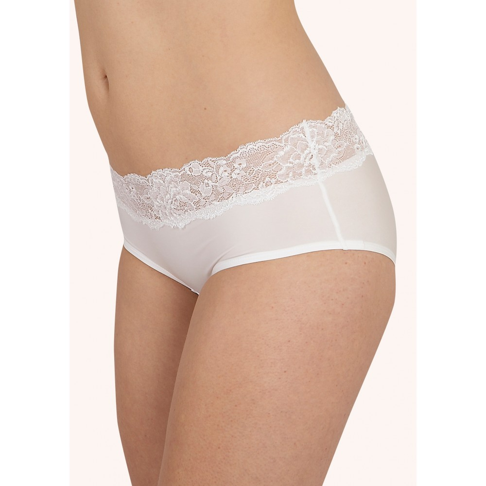 after eden boxer in white