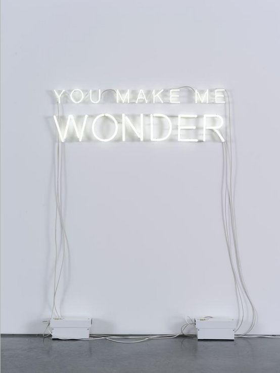 you make me wonder quote
