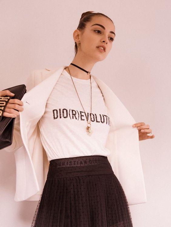 dior - slogan tee - london fashion week 2017