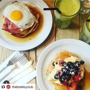 Regram of the best type of brunch at the breakfast club