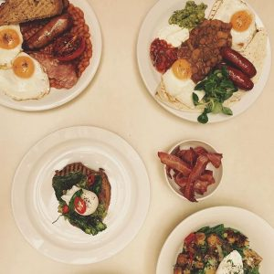 Full English for brunch at the #breakfastclub