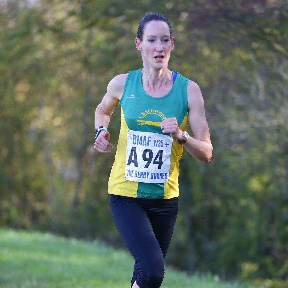 Catherine running