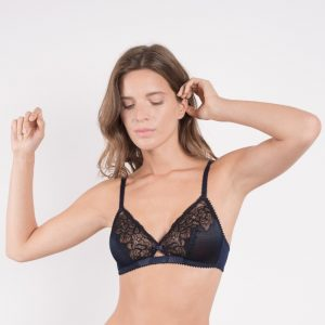 Tender Triangle Bralette by Maison Lejaby